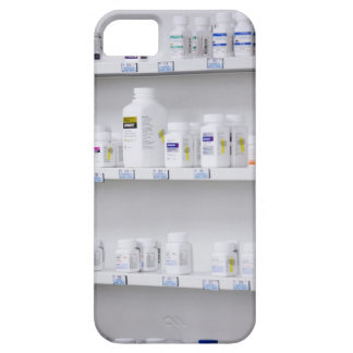 bottles on the shelves at a pharmacy barely there iPhone 5 case