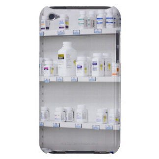 bottles on the shelves at a pharmacy barely there iPod cover