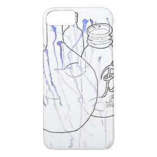 Bottles with Blue Stains iPhone 7 Case