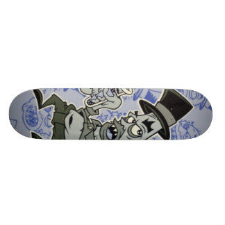 bottoms up deck by DOLLA 21.6 Cm Old School Skateboard Deck