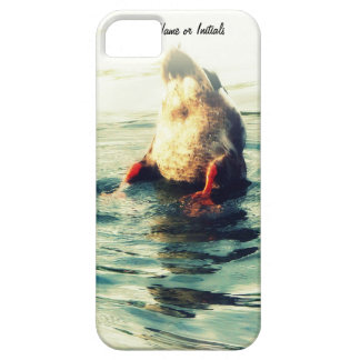 Bottoms UP! Funny Duck Butt Photo iPhone 5 Covers