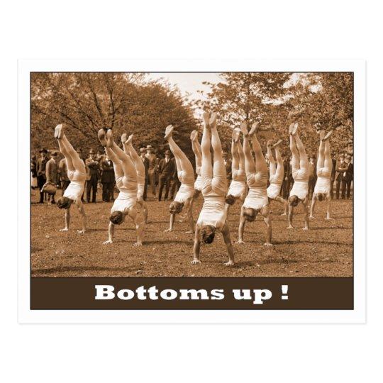 Bottoms Up Postcard