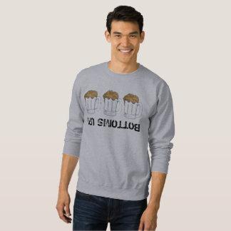 Bottoms Up Upside Down Beer Ale Mug Oktoberfest Sweatshirt