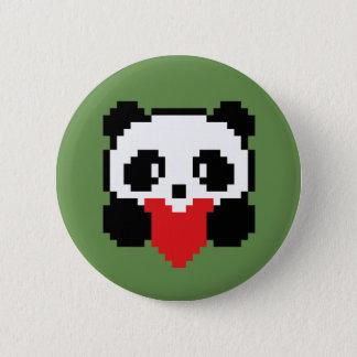 Botton Panda 6 Cm Round Badge