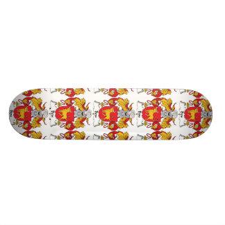 Bou Family Crest Custom Skateboard