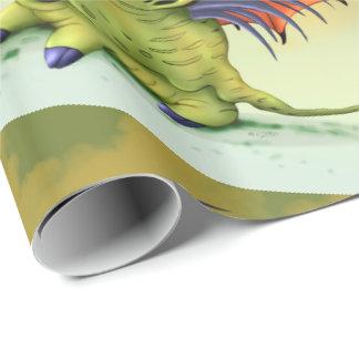 BOUBOU MONSTER ALIEN CARTOON Wrapping Paper
