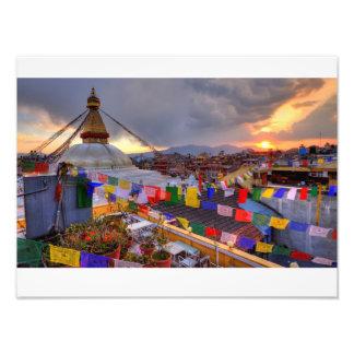 Boudhanath stupa,kathmandu Nepal Photograph
