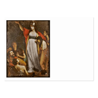 Boudicca Harangues the Britons Pack Of Chubby Business Cards