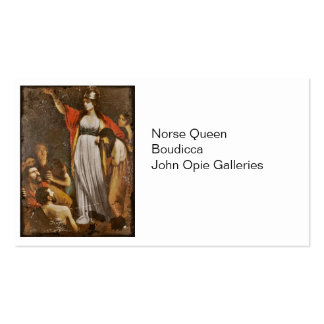 Boudicca Harangues the Britons Pack Of Standard Business Cards