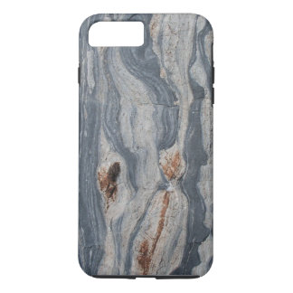 Boudinaged Limestone Rock Texture Print iPhone 7 Plus Case