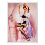 Boudoir Pin Up Posters