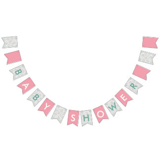 Bougainvillea Baby Shower Bunting
