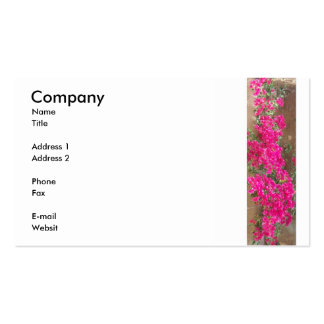Bougainvillea Double-Sided Standard Business Cards (Pack Of 100)