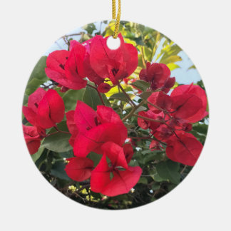 Bougainvillea Christmas Ornament