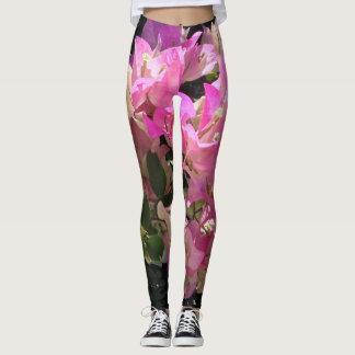 Bougainvillea Leggings