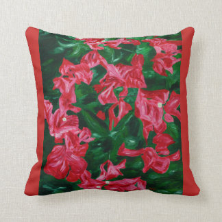 Bougainvilleas - an ode to nature cushion