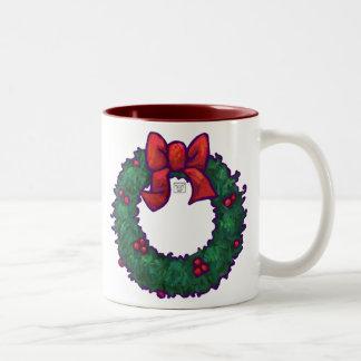 Boughs of Holly Coffee Mug