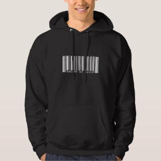 Bought by blood Christan bar code hoodie (dark)