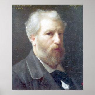 Bouguereau - Autoportrait Presente a M. Sage Poster