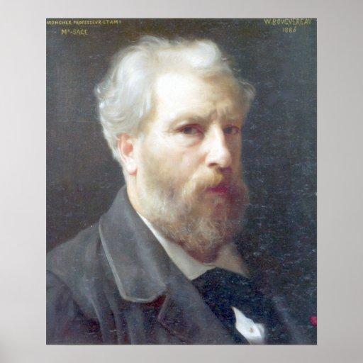 Bouguereau - Autoportrait Presente a M. Sage Print
