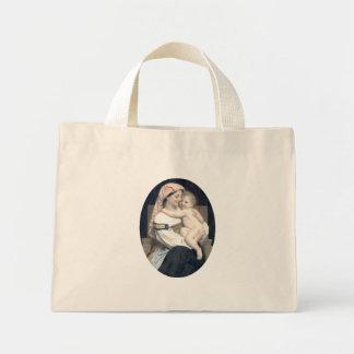 Bouguereau - Femme de Cervara et Son Enfant Canvas Bag