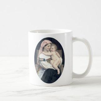 Bouguereau - Femme de Cervara et Son Enfant Coffee Mugs