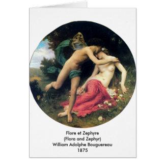 Bouguereau - Flore et Zephyre Card