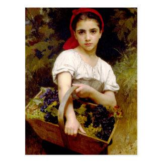 Bouguereau Harvester Postcard