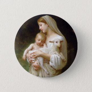 Bouguereau Innocence Button
