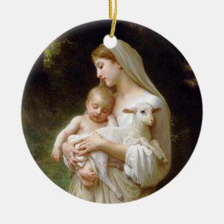 Bouguereau Innocence Ornament
