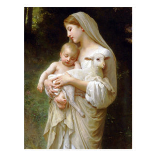 Bouguereau Innocence Postcard