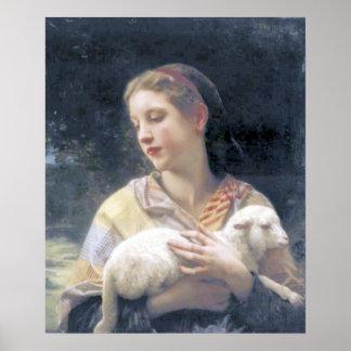 Bouguereau - Innocence Print
