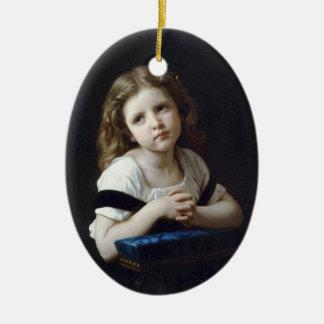 Bouguereau - La Prière Christmas Ornament