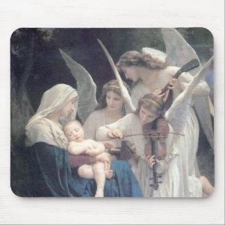 Bouguereau - La Vierge aux Anges Mouse Pad
