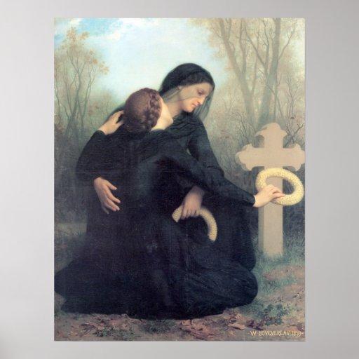 Bouguereau - Le Jour des Morts Poster