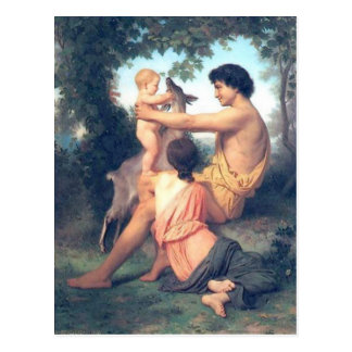 Bouguereau - L'Idylle Postcard