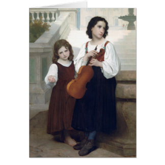 Bouguereau - Loin du Pays Greeting Card