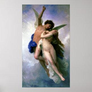Bouguereau - Psyche et L Amour Print