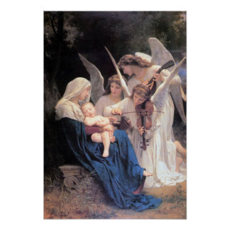 Bouguereau-Song of the Angels lg Print