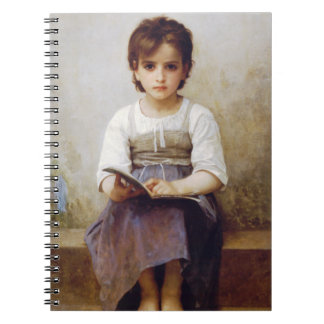 Bouguereau The Hard Lesson Notebook