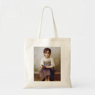 Bouguereau The Hard Lesson Tote Bag