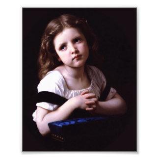 Bouguereau The Prayer Art Photo