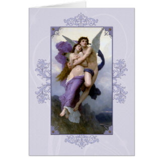 Bouguereau The Rapture of Psyche Card