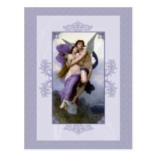 Bouguereau The Rapture of Psyche Post Card