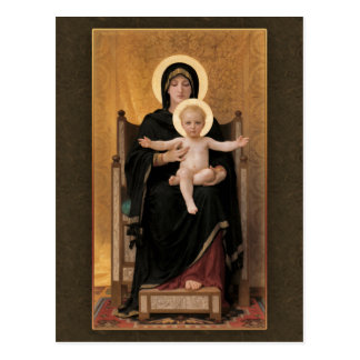 Bouguereau Virgin and Child CC0271 Postcard