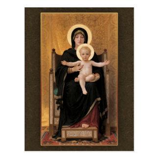 Bouguereau Virgin and Child CC0271 Postcard