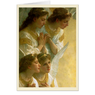 Bouguereau's Angels Christmas Greeting Card