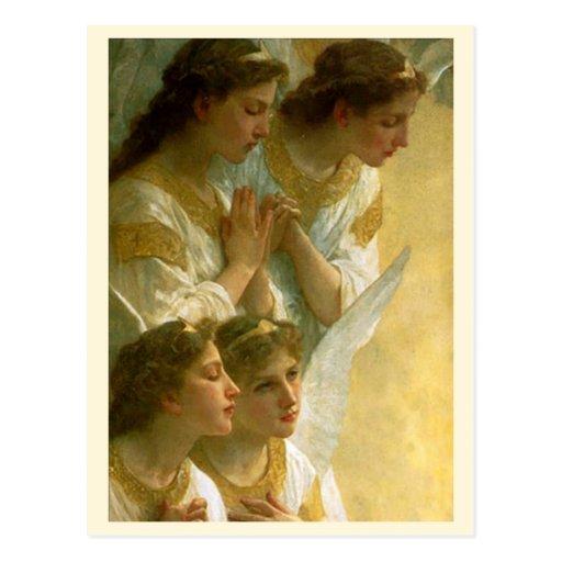 Bouguereau's Angels - Postcard