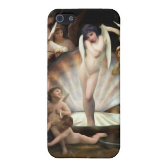 Bouguereau's Angels Surround Cupid Case For iPhone 5/5S