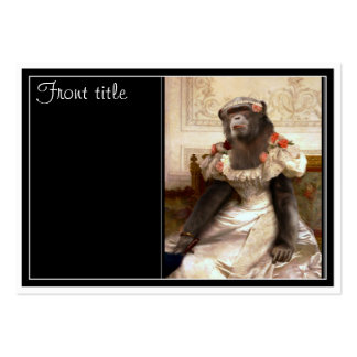 Bouguereau's Chimp Pack Of Chubby Business Cards